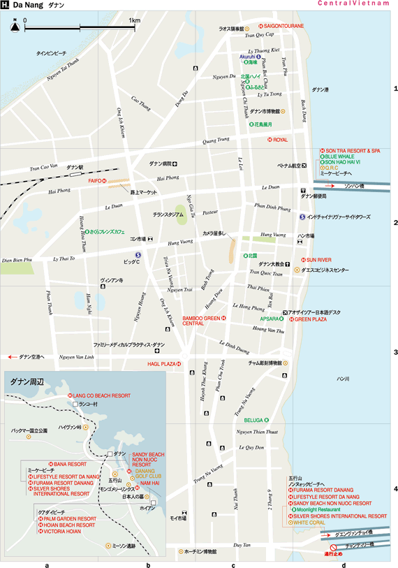 ダナン地図