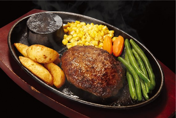 粗挽きハンバーグステーキ
