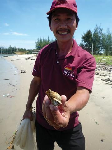 農業と漁業をツアーで体験その名も「フィッシュ&チップス」