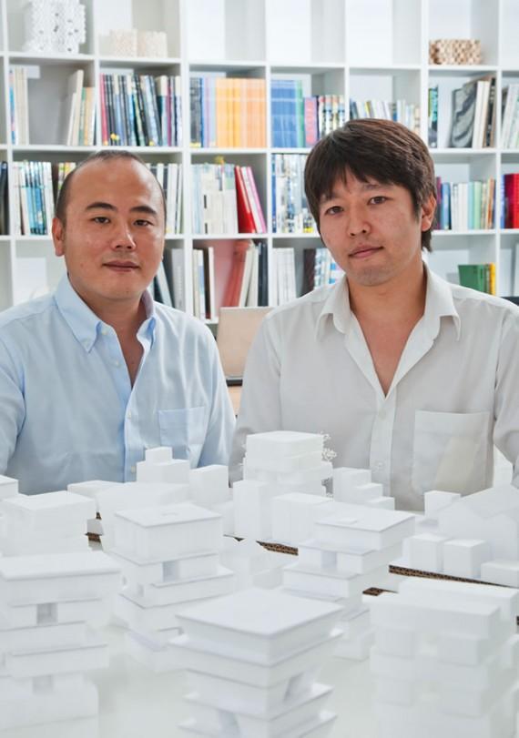 佐貫大輔さん、西澤俊理さん/建築設計事務所「S+Na.」経営者