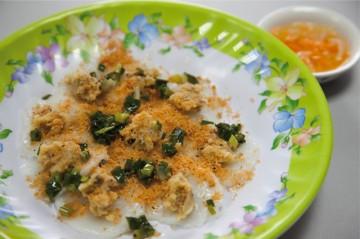 丸蒸し餅 / Bánh Bèo