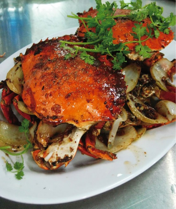 蟹のタマリンド炒め/Cua Rang Me