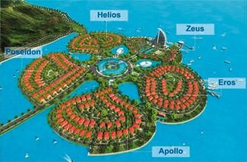 ベトナム初の人工島プロジェクト