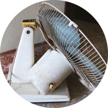 ベトナムの扇風機