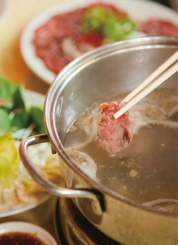 牛肉のお酢しゃぶしゃぶ/Bò Nhúng Giấm