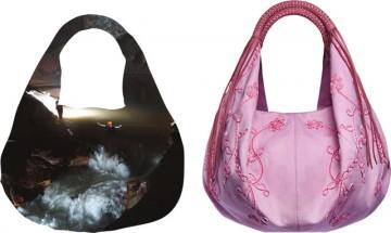 セリアリネンホボバッグ/CELIA Linen Hobo Bag