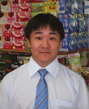 日本人マネージャーの山田さん