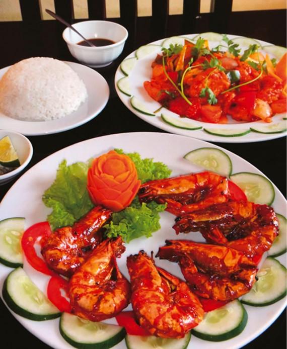 ホワイトロータスレストラン[ベトナム料理]