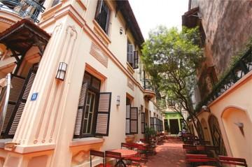 NGO団体「ホアスア/Hoa Sua」が運営するレストラン「ソントゥー」