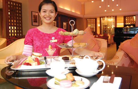 Afternoon tea at Portrait Bar_001