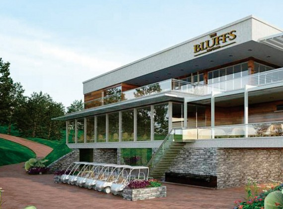 Main Clubhouse View - The bluffs