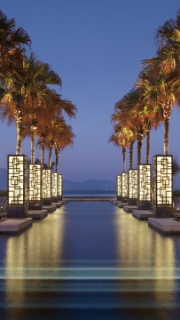 Hyatt Regency Danang-Main Pool Night View