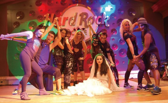 Halloween Zumba Party at Hard Rock Cafe HCMC