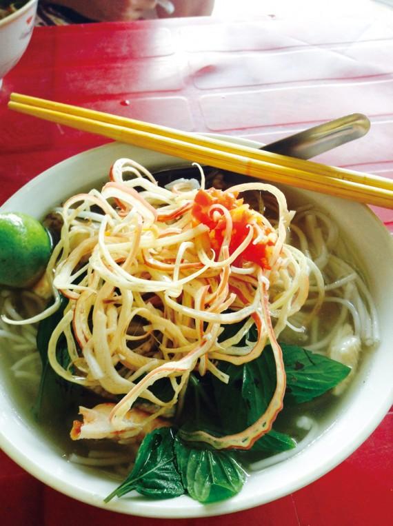 ソクチャン発酵魚スープブン Bun Nuoc Leo Soc Trang