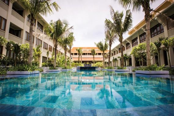 Alma courtyard