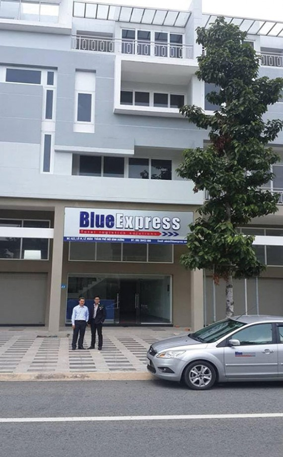 Blue Express branch