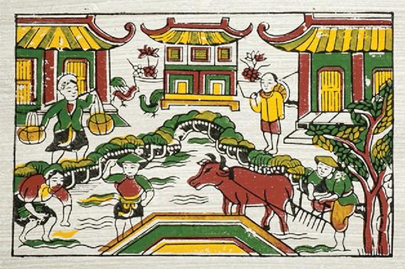 十二支は旧正月テト(Tet)の必需品であるお年玉袋に登場。2017年は酉(とり/Dậu)だ