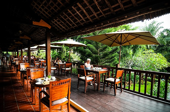 Palm Garden Hoi An - Terrace (exterior)